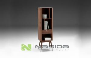 Quality MDF Tall Modern Wood Storage Cabinets for Dining Room or Book Storage for sale ... & MDF Tall Modern Wood Storage Cabinets for Dining Room or Book ...
