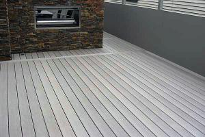 China WPC Grooved anti-slip flooring /Outdoor flooring/Plastic decking-146*31mm on sale