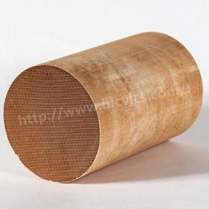 China Cordierite Honeycomb Ceramic Catalytic Converter for Diesel Engines SCR Catalytic Muffler on sale