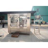 Plastic Bottle Filling Equipment , Electric Glass Bottled Liquid Filling Machine