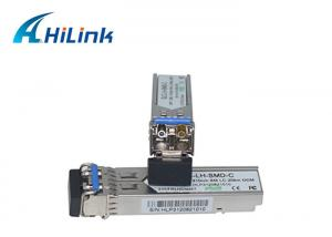 China Duplex LC SFP Transceiver Module 1000BASE-LX 1.25G 1310nm DOM LH SFP GLC-LH-SMD on sale