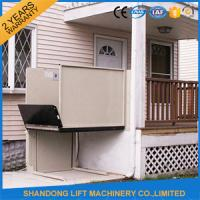 China Home Wheelchair Outdoor Residential Elevator Handicap Lift Equipment for Lifting Disabled Person on sale