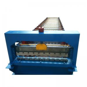 China 760 3kw Roller Shutter Door Roll Forming Machine With 17 Rows Of Rollers and 3ke hydraulic power on sale