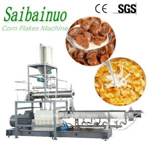 China Manufacturer Breakfast Cereal Processing Line Price Making Corn Flakes Machinery on sale