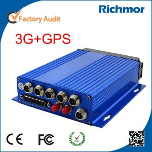 China Richmor IOS/Andorid Monitor 4CH D1 Car Mobile DVR 3G GPS Motion Detection on sale