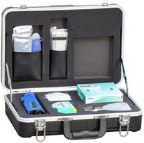 China Deluxe Fiber Connector Cleaning Kit With 200X Inspection Scope HR - 750A on sale