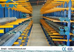 China Double / Single Sided Cantilever Storage Racks System For Warehouse Storage on sale