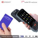 Hand Held Rfid Nfc Reader 13.56mhz Industrial Pda For Bus Card Club Card