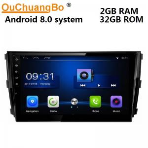 China Ouchuangbo car gps head unit media system android 8.1 for Zotye T600 support USB SWC AUX wifi 2+32 on sale