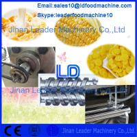 China High capacity Corn flakes/breakfast cereals machine/extruded breakfast cereals equipment on sale