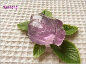China Transparent Handmade wholesale hotel toilet bath soap glycerin soap on sale