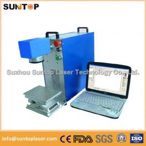 China Gears portable fiber laser marking machine small portable model on sale