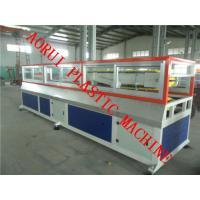 China WPC の床のプラスチック プロフィールの押出機、板のためのプラスチック プロフィール機械 on sale