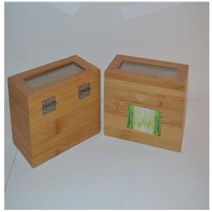 China organic bamboo customized luxury tea box with two component for wholesale on sale