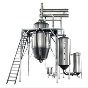 China High Efficiency Herb Oil Extraction Machine In Stevia Extraction Line on sale