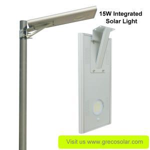 China Integrated Solar Street Light 15 Watt on sale