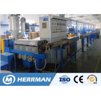 1000m / Min Line Speed Pvc Cable Extruder Machine For 1.5-16mm2 WIth PLC Control
