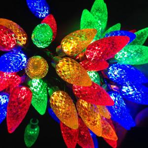China Strawberry Christmas lights for party on sale