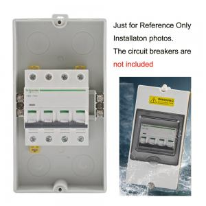 Superb 4 Way Ip65 Waterproof Electrical Distribution Enclosure Wall Mount Wiring Cloud Hisonuggs Outletorg