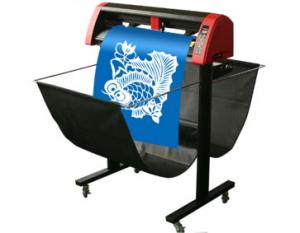 China 1205mm Cutting Width Laserpoint Vinyl Cutter With ARM SOPC Controller on sale