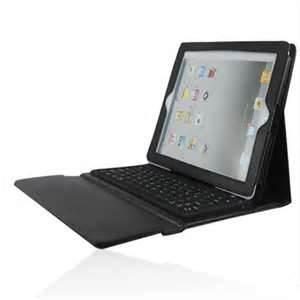 China Compact Folding PU Leather for tablet pc ipad 3 bluetooth keyboard case on sale