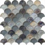 Las series grises mágicas riegan el mosaico de cristal que agita para el sitio de hombre