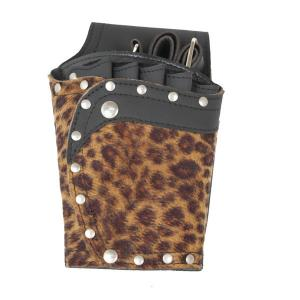 China Leopard Print Hairdressers Salon Tool Bag Hair Shear Cases for OEM on sale