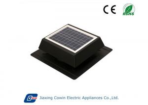 China 9in Aluminium Fan Blade Solar Vent Fan With Max Output Capacity 500CFM on sale