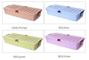 China widely use long storage box , under sofa plastic storage box, outside tools storage box on sale