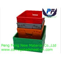 2-12 mm Polypropylene Plastic Coaming Foldable Corrugated Box for Packing Industry