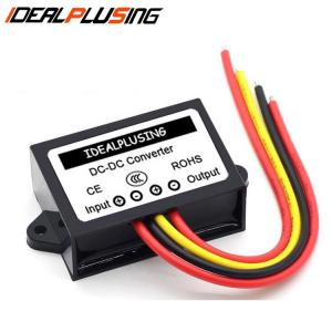 China Waterproof 12v to 24v dc converter 4A 96W boost adjustable power for car DIY on sale