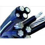 China Long Life Al Aerial Bundled Cables ABC Cables 0.6/1 KV PVC / PE / XLPE Insulated wholesale