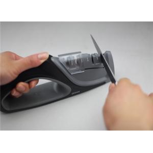 China 4 Stages Household Knife Sharpener Tungsten Blade Ceramic Rod Kitchen Accessories 254g 215*45*90mm on sale