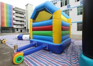 China Colorful Simple Inflatable Bounce House / Kids Bouncy Castle on sale