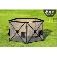 China Extra Large Security Portable Play Yard Thick Steel Frame , Outdoor Use on sale