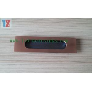 China Aluminum Extruded Hardware Parts Modern Furniture Accessories For Modern Drawer on sale