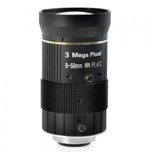 China Manual iris lenses, 8-50mm Camera Lens for Industry Microscope Camera, C mount, 3.0MP on sale