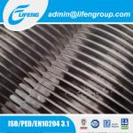 aluminum extruded fin tube air heater heat exchanger fin pipe