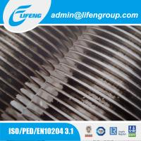 China aluminum extruded fin tube air heater heat exchanger fin pipe on sale