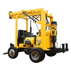China YZJ-300YY Trailer Mounted Mining Exploration Drilling Rig on sale