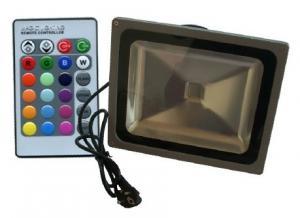 China OEM Custom Eco Friendly IP65 RGB Led Flood Lights 20W with Remote Control on sale
