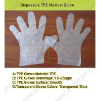 China Hot Sell Disposable TPE Medical Glove (LY-PG-004) on sale