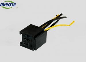 China Square Shape Black Cover Automotive Electrical Harness Connectors 12V 5  Prolong on sale