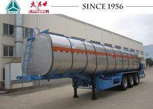 China 35 CBM 40 Tons Bitumen Tanker Trailer, Asphalt Trailer With Burner on sale