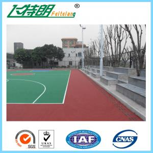 China Badminton Sports Court Tiles Outdoor Gym Flooring Against Cigarette Burns on sale