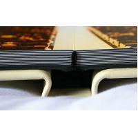 China Custom 12x18 White Leather Wedding Photo Albums , Scratch Resistant Flush Mount Album on sale