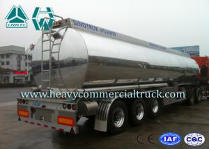 China Anti Caustic Oil Saving Fuel Tank Semi Trailer ADR DOT Standard on sale