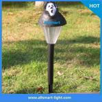holloween las luces solares llevadas jardín solar del césped del camino del sensor solar de las luces de los chrismas de las luces del punto