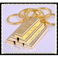 China 24K Gold Plated Jewelry , Fine Solid Gold Bar PENDANT Gold Bar Necklace on sale