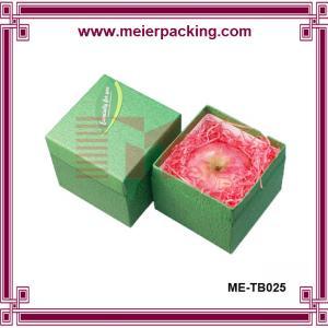 China Apple paper box, eco-friendly paper box, christmas paper gift box ME-TB025 on sale